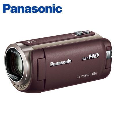【即納】パナソニック デジタルビデオカメラ 32GB フルハイビジョン ワイプ撮り HC-W580M-T ブラウン 【送料無料】【KK9N0D18P】
