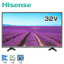 【即納】ハイセンス 32V型 LED液晶テレビ K225 USBハードディスク録画モデル HS32K225 【送料無料】【KK9N0D18P】