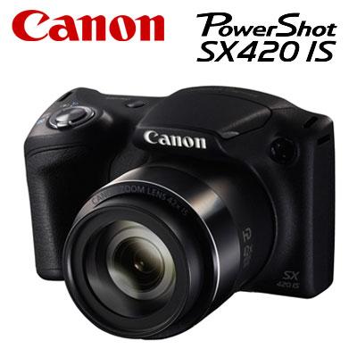 【即納】CANON コンパクトデジタルカメラ PowerShot SX420 IS パワーショット PSSX420IS 【送料無料】【KK9N0D18P】