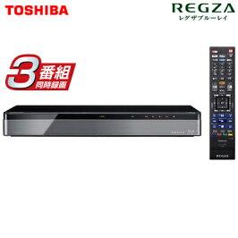 東芝レグザブルーレイディスクレコーダー時短3TBHDD内蔵3番組同時録画タイムシフトマシン4K対応DBR-M3007