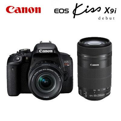 【即納】CANON デジタル一眼レフカメラ EOS Kiss X9i ダブルズームキット 1893C003 EOSKISSX9I-WKIT 【送料無料】【KK9N0D18P】