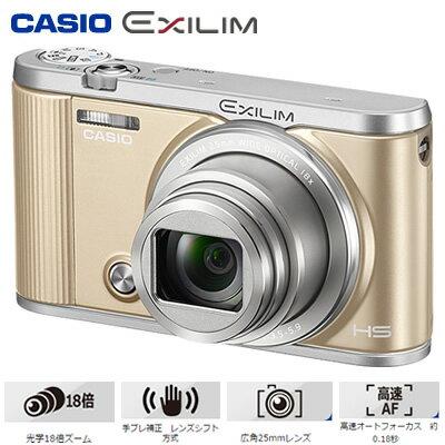 【即納】カシオ デジタルカメラ HIGH SPEED EXILIM EX-ZR1800 エクシリム EX-ZR1800GD ゴールド 【送料無料】【KK9N0D18P】
