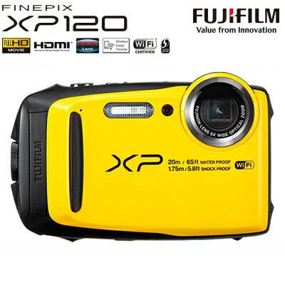 【即納】富士フイルム デジタルカメラ FinePix XP120 FX-XP120Y イエロー 防水 防塵 【送料無料】【KK9N0D18P】