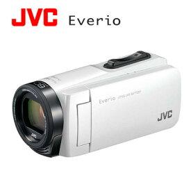 JVC ハイビジョンメモリームービー Everio エブリオ 耐衝撃 デジタルビデオカメラ 32GB GZ-F270-W ホワイト 【送料無料】【KK9N0D18P】