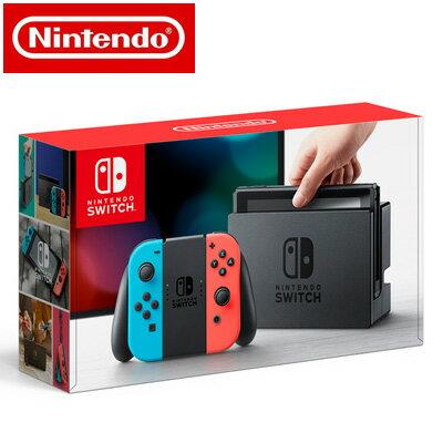 【ポイント最大43倍!〜10/26(金)1:59迄】【新品】 任天堂 ニンテンドースイッチ Nintendo Switch 本体 HAC-S-KABAA Joy-Con (L) ネオンブルー/ (R) ネオンレッド 【送料無料】【KK9N0D18P】
