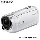 【即納】ソニー ビデオカメラ ハンディカム 32GB HDR-CX470-W ホワイト 【送料無料】【KK9N0D18P】