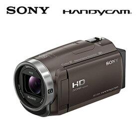 SONY デジタルHDビデオカメラレコーダー ハンディカム 64GB HDR-CX680-TI ブロンズブラウン 【送料無料】【KK9N0D18P】