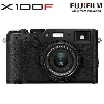 富士フイルム デジタルカメラ FUJIFILM X100F X100F-B ブラック 【送料無料】【KK9N0D18P】
