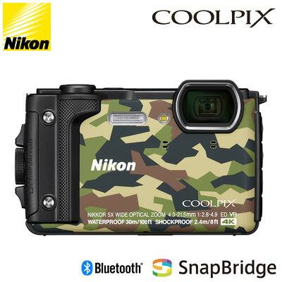 【即納】ニコン コンパクトデジタルカメラ COOLPIX W300 カムフラージュ COOLPIX-W300-GR 水深30mまで対応可能【送料無料】【KK9N0D18P】