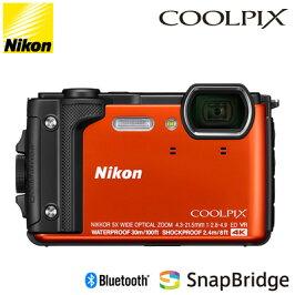 ニコンコンパクトデジタルカメラCOOLPIXW300オレンジCOOLPIX-W300-OR水深30mまで対応可能