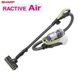 シャープ掃除機サイクロン式RACTIVEAirコードレスキャニスターサイクロン掃除機EC-AS500-Yイエロー系