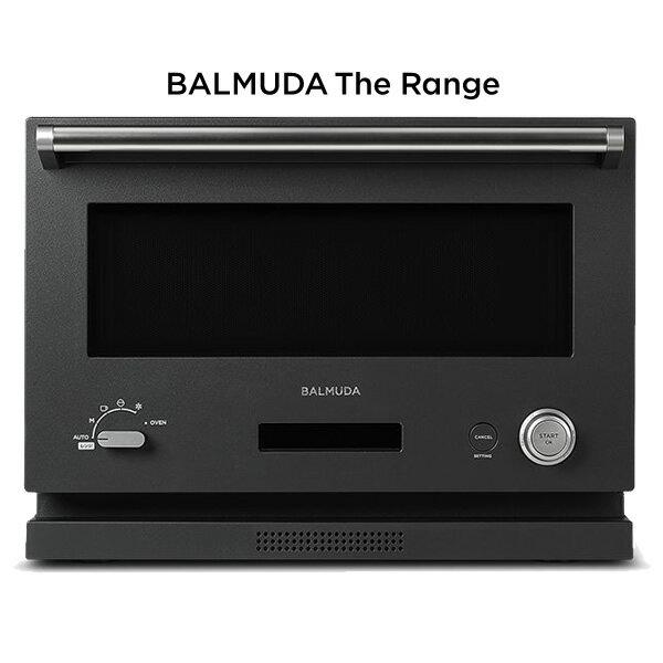 【即納】バルミューダ オーブンレンジ BALMUDA The Range K04A-BK ブラック 18L【送料無料】【KK9N0D18P】