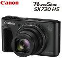 【キャッシュレス5%還元店】キヤノン コンパクトデジタルカメラ パワーショット SX730 HS ブラック PSSX730HS-BK PowerShot CANON【送料無料】【KK9N0D18P】