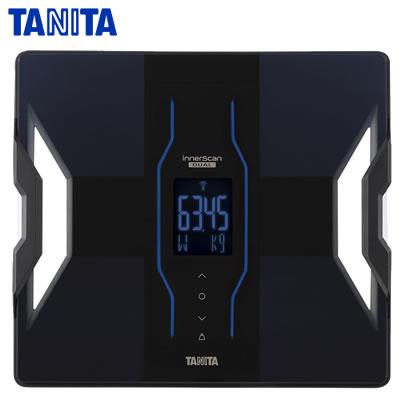 タニタ デュアルタイプ体組成計 インナースキャンデュアル RD907-BK ブラック【送料無料】【KK9N0D18P】