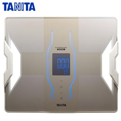 タニタ デュアルタイプ体組成計 インナースキャンデュアル RD907-GD グレイッシュゴールド【送料無料】【KK9N0D18P】