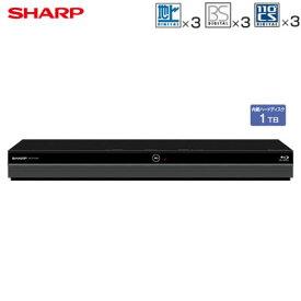 【即納】シャープ アクオス ブルーレイディスクレコーダー ドラ丸 1TB HDD内蔵 トリプルチューナー 3番組同時録画 BD-NT1200【送料無料】【KK9N0D18P】