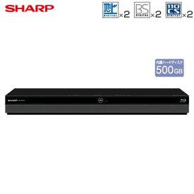 シャープ アクオス ブルーレイディスクレコーダー ドラ丸 500GB HDD内蔵 ダブルチューナー 2番組同時録画 BD-NW520【送料無料】【KK9N0D18P】