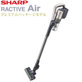 シャープ 掃除機 コードレススティッククリーナー ラクティブ エア EC-AR2SX-N ゴールド系 RACTIVE Air【送料無料】【KK9N0D18P】