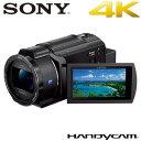 ソニー デジタル4Kビデオカメラレコーダー ハンディカム FDR-AX45-B ブラック【送料無料】【KK9N0D18P】