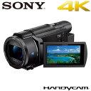 ソニー デジタル4Kビデオカメラレコーダー ハンディカム FDR-AX60 ブラック【送料無料】【KK9N0D18P】
