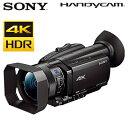 ソニー デジタルビデオカメラ ハンディカム 4K HDR FDR-AX700 4Kハンディカム 【送料無料】【KK9N0D18P】