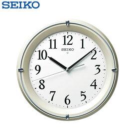 【キャッシュレス5%還元店】セイコー クロック 掛け時計 自動点灯 電波 アナログ 薄金色 パール KX381S SEIKO 【送料無料】【KK9N0D18P】