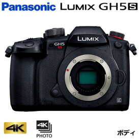 パナソニック ミラーレス一眼カメラ ルミックス LUMIX Gシリーズ GH5S ボディ DC-GH5S【送料無料】【KK9N0D18P】