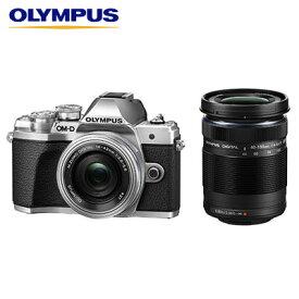 【即納】オリンパス デジタル一眼カメラ ミラーレス一眼カメラ OM-D E-M10 Mark III EZダブルズームキット E-M10-MKIII-EZWZK-SL シルバー【送料無料】【KK9N0D18P】