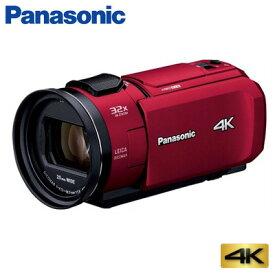 【キャッシュレス5%還元店】パナソニック デジタルビデオカメラ 4K 64GB HC-VX1M-R レッド【送料無料】【KK9N0D18P】