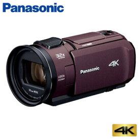 【お買い物マラソン 〜9/24(火)1:59迄】【即納】パナソニック デジタルビデオカメラ 4K 64GB HC-VX1M-T ブラウン【送料無料】【KK9N0D18P】