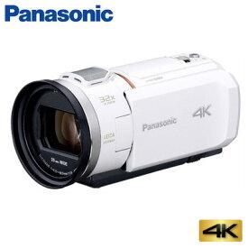 【キャッシュレス5%還元店】パナソニック デジタルビデオカメラ 4K 64GB HC-VX1M-W ホワイト【送料無料】【KK9N0D18P】