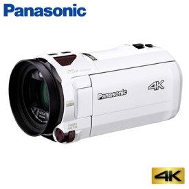 パナソニック デジタルビデオカメラ 4K 64GB HC-VX990M-W ホワイト【送料無料】【KK9N0D18P】