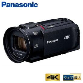 パナソニック デジタルビデオカメラ 4K ワイプ撮り 64GB HC-WX1M-K ブラック【送料無料】【KK9N0D18P】