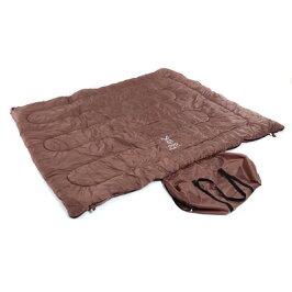 ドッペルギャンガーアウトドアわがやのシュラフ4人用寝袋FAMILY'sSLEEPINGBAGS4-511ブラウンビーズ