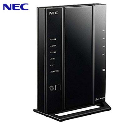 【即納】NEC 11ac対応 1733Mbps + 800Mbps 無線LANルーター Wi-Fiルーター Aterm WG2600HP3 PA-WG2600HP3【送料無料】【KK9N0D18P】