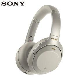 【即納】ソニー ワイヤレスノイズキャンセリングステレオヘッドセット WH-1000XM3-S プラチナシルバー SONY【送料無料】【KK9N0D18P】