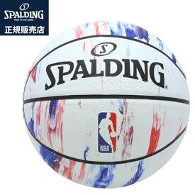 【キャッシュレス5%還元店】【正規販売店】スポルディング バスケットボール 7号球 NBA LOGO マーブル SIZE 7 83-934J【送料無料】【KK9N0D18P】