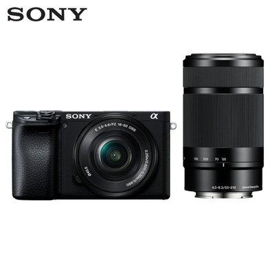 【即納】ソニー デジタル一眼カメラ α6400 ダブルズームレンズキット ILCE-6400Y-B ブラック SONY【送料無料】【KK9N0D18P】