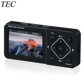 【即納】テック 3.5インチ液晶モニター搭載 HDMIレコーダー RECORD MASTER TMREC-FHD【送料無料】【KK9N0D18P】