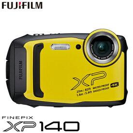 富士フイルム タフネスカメラ FinePix XP140 防水 耐衝撃 防塵 耐寒 4K動画 デジタルカメラ XPシリーズ FX-XP140Y イエロー【送料無料】【KK9N0D18P】