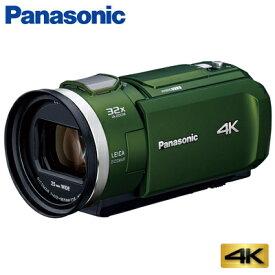 パナソニック デジタル 4K ビデオカメラ 64GB 4K PREMIUM HC-VX2M-G フォレストカーキ【送料無料】【KK9N0D18P】