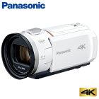 【即納】パナソニック デジタル 4K ビデオカメラ 64GB 4K PREMIUM HC-VX2M-W ピュアホワイト【送料無料】【KK9N0D18P】