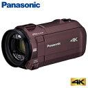 【即納】パナソニック デジタル 4K ビデオカメラ 64GB 4K AIR HC-VX992M-T カカオブラウン【送料無料】【KK9N0D18P】