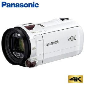 パナソニック デジタル 4K ビデオカメラ 64GB 4K AIR HC-VX992M-W ピュアホワイト【送料無料】【KK9N0D18P】