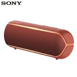 ソニーワイヤレスポータブルスピーカーSRS-XB22-RレッドSONY