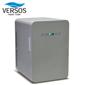 ベルソス ダブルペルチェ 冷温庫 24L VS-440 ホワイト VERSOS【送料無料】【KK9N0D18P】