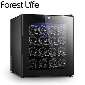 フィフティ ワインセラー 庫内容量48L 16本収納 家庭用 右開き Forest Life WCF-16【送料無料】【KK9N0D18P】