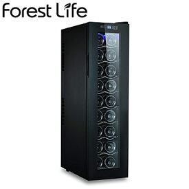 フィフティ ワインセラー 庫内容量49L 18本収納 家庭用 右開き Forest Life WCF-18【送料無料】【KK9N0D18P】