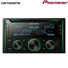 パイオニア カロッツェリア カーオーディオ 2DIN CD/USB/Bluetooth FH-4600【送料無料】【KK9N0D18P】