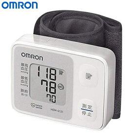 【即納】【キャッシュレス5%還元店】オムロン 手首式血圧計 自動血圧計 HEM-6121【送料無料】【KK9N0D18P】